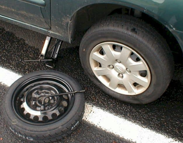 spare tire place