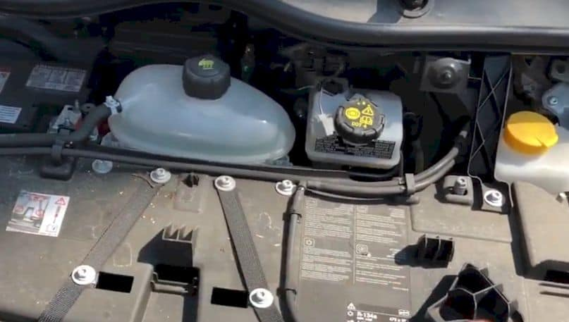 Faulty Coolant Container