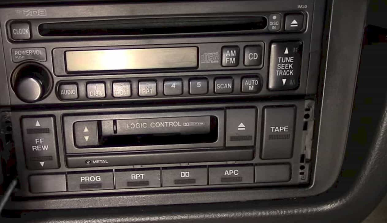 how to remove car stereo