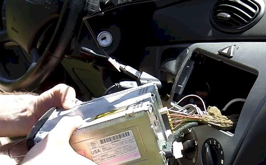 removing the dash panel