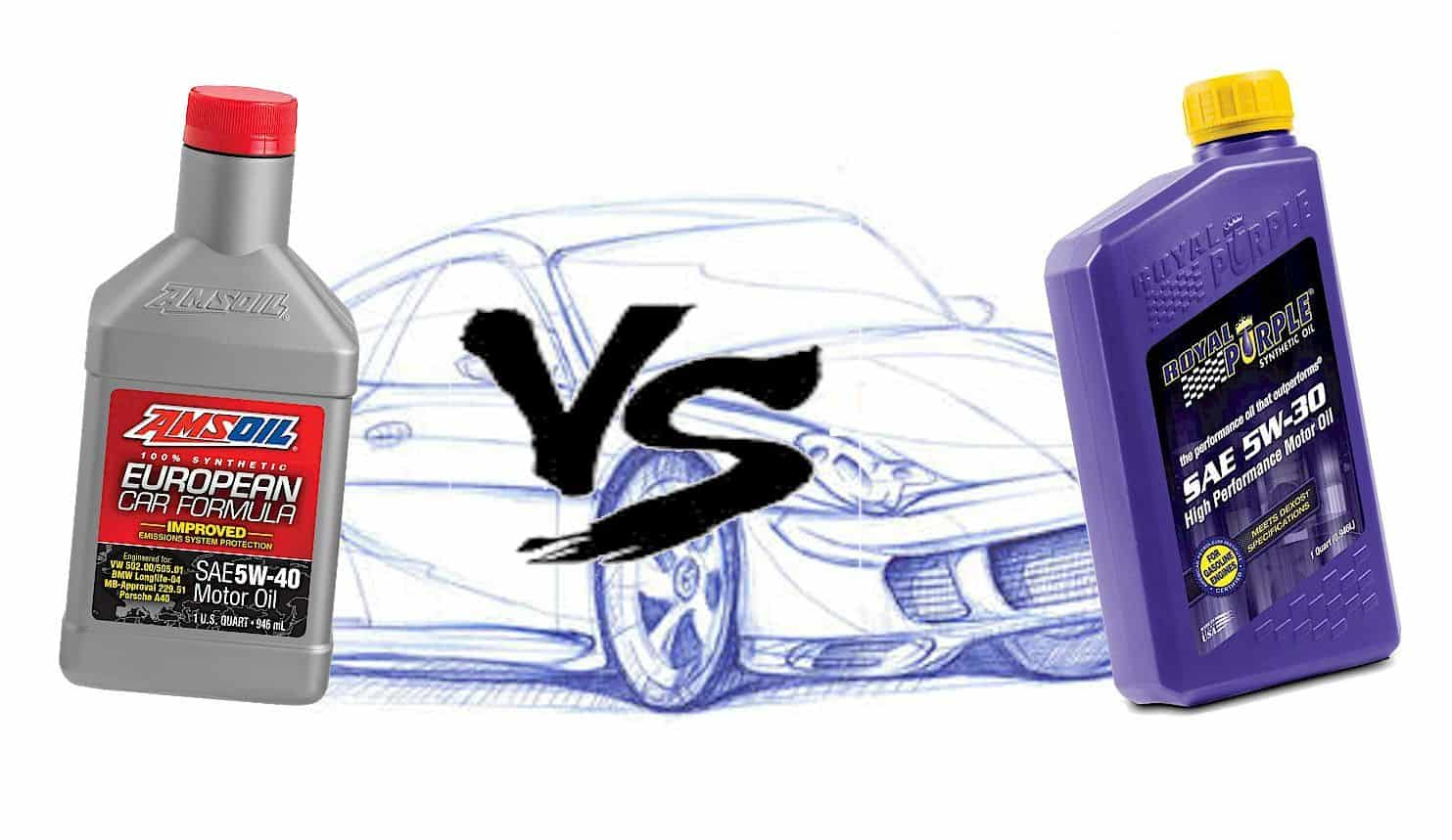 Amsoil vs Royal Purple