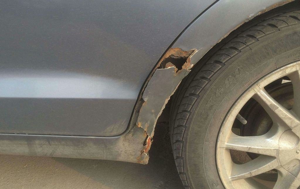 how to stop rust on car